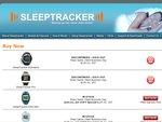 SleepTracker #1 Selling Award Winning Sleep Monitor FREE POST & Special Pricing from $125