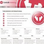 Tweaknews - Block 250GB after Free Trial 11 Euro
