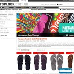 $10 Havaiana Top Thongs and $15 Metallic Thongs Free Delivery