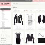 Save $110 off Full-Priced Orders $250+ (Free Delivery) @ Review (Women's Fashion) - Code: ETBOOK