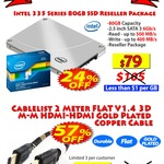 Intel 335 80GB SSD $79 & 2meter HDMI Cable $3 @ MSY