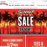 Hallenstein Brothers 20% off (Incl Sale Items) + Free Delivery for Orders > $30