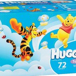 Huggies Jumbo Boxed Nappies or Nappy Pants 60-108pk $27 @ Big W