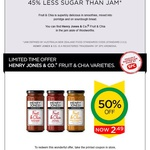 Henry Jones & Co Jam 50% off at Woolworths $2.49 with Coupon