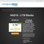 Newsgroup Direct - 3TB Block for $80