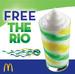 Free Frozen Rio @ McDonalds Brisbane (ShopperNova App)
