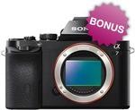 Sony Alpha A7 Full Frame DSLR, $1072 + Bonus Lens + Bonus Adaptor + FREE SHIPPING* @Videopro