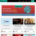 Get Any Courses for $9 @ Yakufa