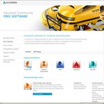 Free Autodesk Software for Students and Educators (Including Autocad and Maya)