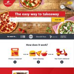 Delivery Hero up to 50% off at Participating Restaurants Tonight Only (5pm - 10pm)