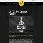 Guzman Y Gomez Hot Sauce Challenge - First 50 Upload Photo Get a FREE Burrito. Nationwide