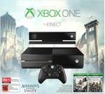 Xbox One Console 500GB with Kinect + Assassin's Creed Unity Bundle $448 @Havey Norman