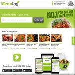 20% off @ Menulog (Delivery Only)