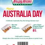 Buy any Dozen Doughnuts & Get a Dozen Original Glazed Doughnuts for $1 @ Krispy Kreme [SA]