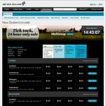 Flights to New Zealand from SYD/MEL/BRI from $189 One Way Per Person @ Air New Zealand