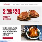 Red Rooster $5 Quarter Chicken & Chips 11am-4pm