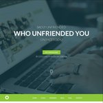 See Who Unfriends You - US$2/Month (~AU$2.60) (Was US$4.99/Month) (~AU$6.50) Free Setup