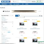 10% off Apple MacBooks - from $1260 @ The Good Guys