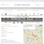[VIC] Clickon Furniture Warehouse Sale, Couch / Dining Table from $2XX