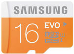 Samsung 16GB Evo Micro SD SDHC Class 10 48MBs $6.95 Delivered @ PC Byte eBay