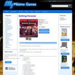 Milsims [MELB] - Nothing Personal Board Game $44.31 + $10 Shipping (or FREE Store Pick-up)