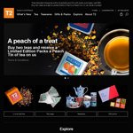 T2 Limited Edition Packs a Peach Tin Gift with Purchase