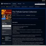 The Telltale Games Collection PS4 $52.94 (PS+$37.85) - PSN store