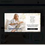 Sheridan - 40% off Storewide, Free Delivery. Sheridan Outlet - up to 70% off, Free Delivery with Minimum Spend of $150