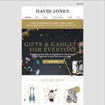 David Jones - Free Standard Delivery - Today Only