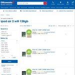Apple iPad Air 2 Wi-Fi 128GB $619 Delivered at Officeworks