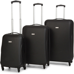 Antler Venice 4-Wheel Luggage Black @ COTD - 3 Pieces @ $199 (Club Catch Membership Req'd)