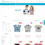 Mix Apparel. All Kids Items $2, Free Shipping if You Spend over $50