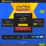 [PC] Steam - Sonic Games Collection - $19.99 USD (~$27 AUD) RRP $100 USD @ Bundle Stars