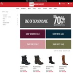 End of Season Sale - up to 70% off Men's and Women's Styles at Shoe Warehouse Online (Free Shipping on $99+)
