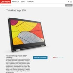 """ThinkPad Yoga 370 $1499 (13.3"""" FHD, i5-7200U, 8GB RAM, 256GB SSD) + 50% off Extra Warranty from Lenovo"""