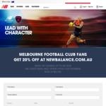 20% off Any Melbourne Football Club Item @ New Balance