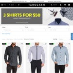 3 Shirts for $50 @ Tarocash