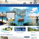 10% off in 5 Days Vietnam Package Tour from Asia Queen Travel   $249 USD ($316 AUD) or $235 USD (~$298 AUD)/Person