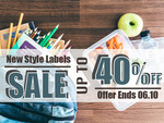 Name Labels and Pantry Labels up to 40% off @ Oz Labels