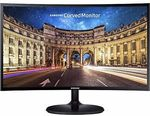 """Samsung C27F390FHE 27"""" LED LCD Curved Monitor- $252.22 Delivered (Was $519) @ Futu Online eBay"""