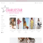 Get 10% off Your First Order Storewide at Charlie Star Boutique