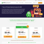 VPN: 1 Year with Private Internet Access for USD $29 (AUD $38.05)