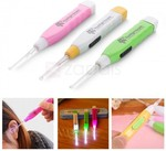 Plastic Ear Wax Removal Kit with LED Light, Random Color, $0.30 USD ~ $0.40 AUD @ Zapals