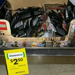 LEGO Ninjago Minifigures $2.50 (Half Price) @ Woolworths