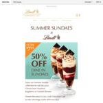 [NSW/VIC] Summer Sundae $7.25 (Half Price) @ Lindt Chocolate Café