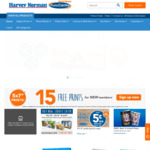 """6x 4"""" Digital Photo Print 5c Each, with Next Day Pickup @ Harvey Norman Photo Centre"""