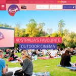 [VIC/WA/NSW] Moonlight Cinema: Melbourne, Perth & Sydney - $10 Tickets Via Cinebuzz Rewards