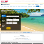 10% off Expedia Pre-Paid Hotels for Westpac Customers