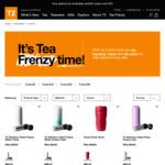 T2 TeaFrenzy - Selected Tea Flasks now $20