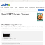 Win a Sharp R210DW Compact Microwave Worth $149 from News Life Media